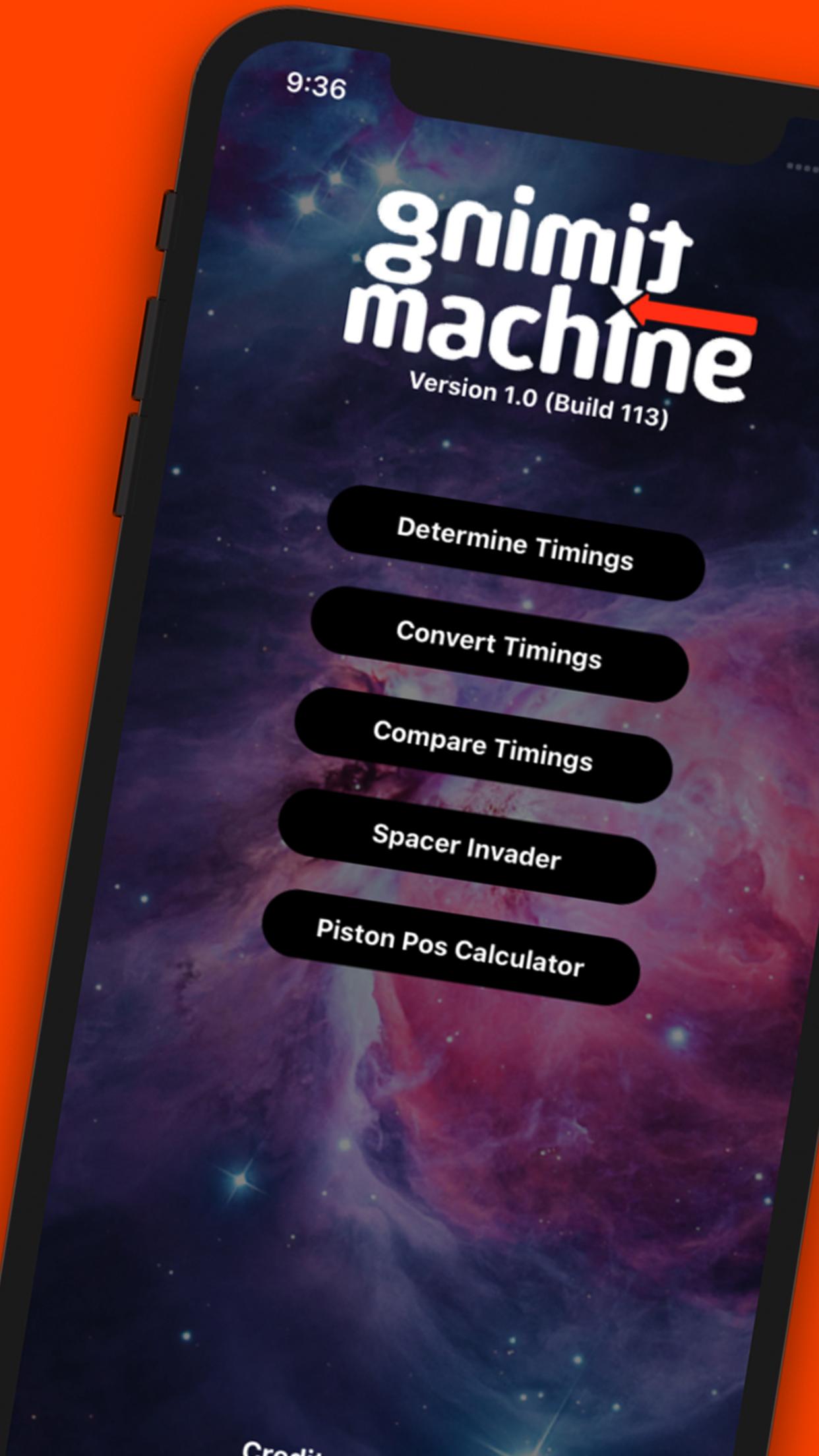 Timing Machine App Marketing Screen 01