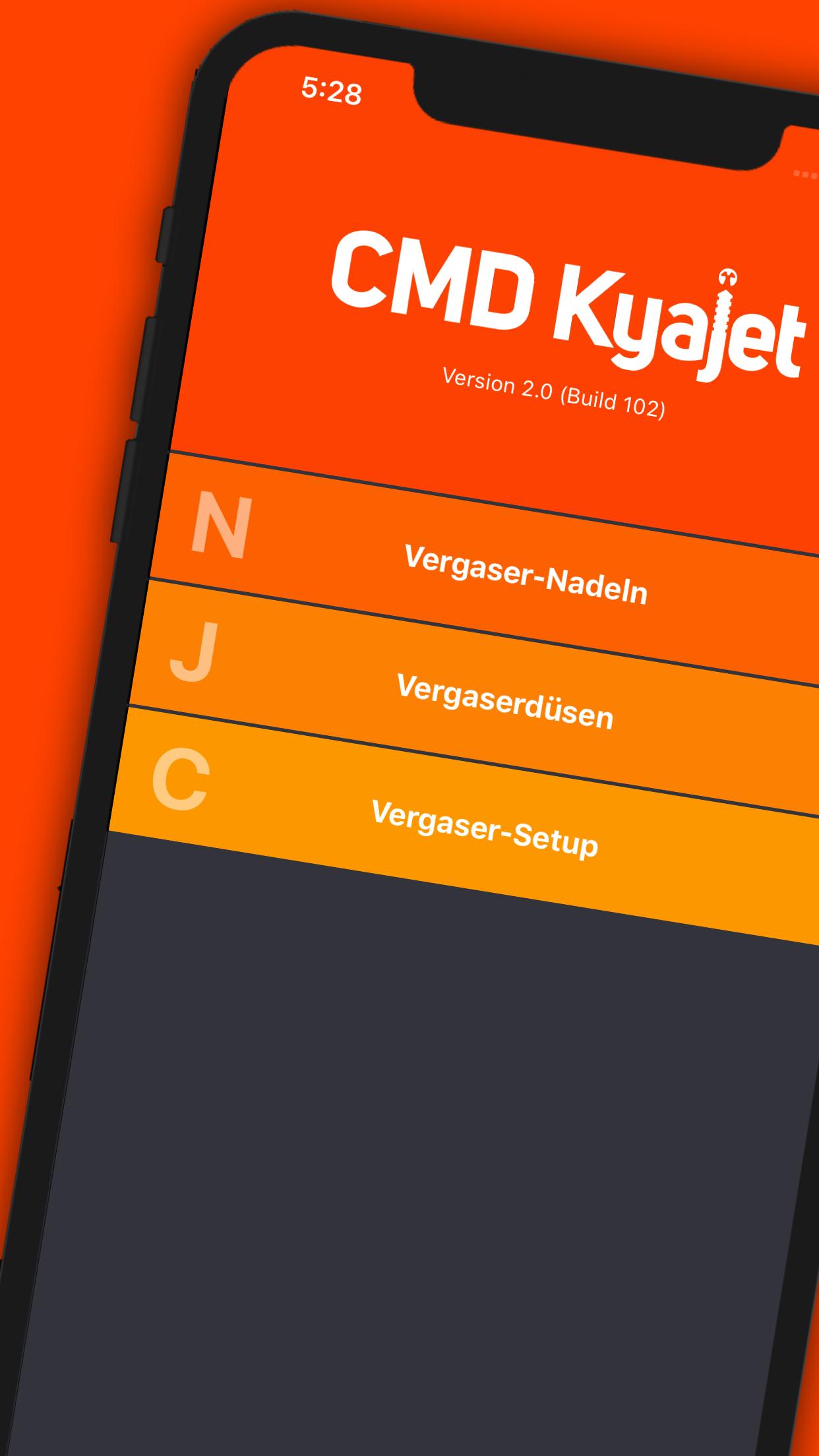 kyajet App Marketing Screen 01