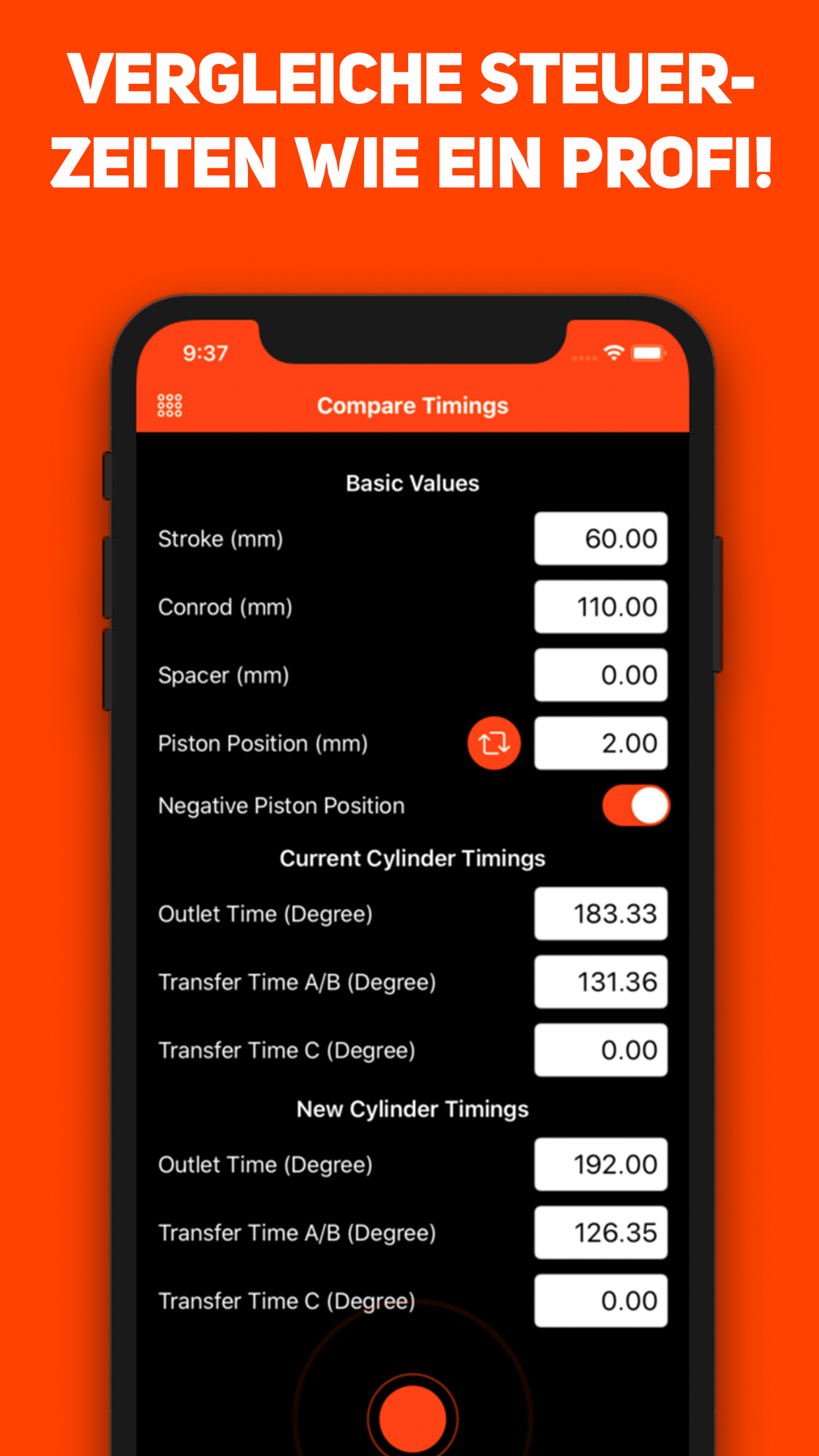 Timing Machine App Marketing Screen 06